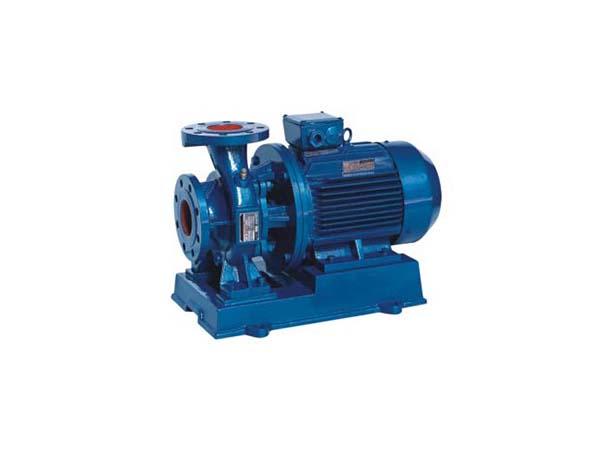 ISW卧式单级单吸管道泵